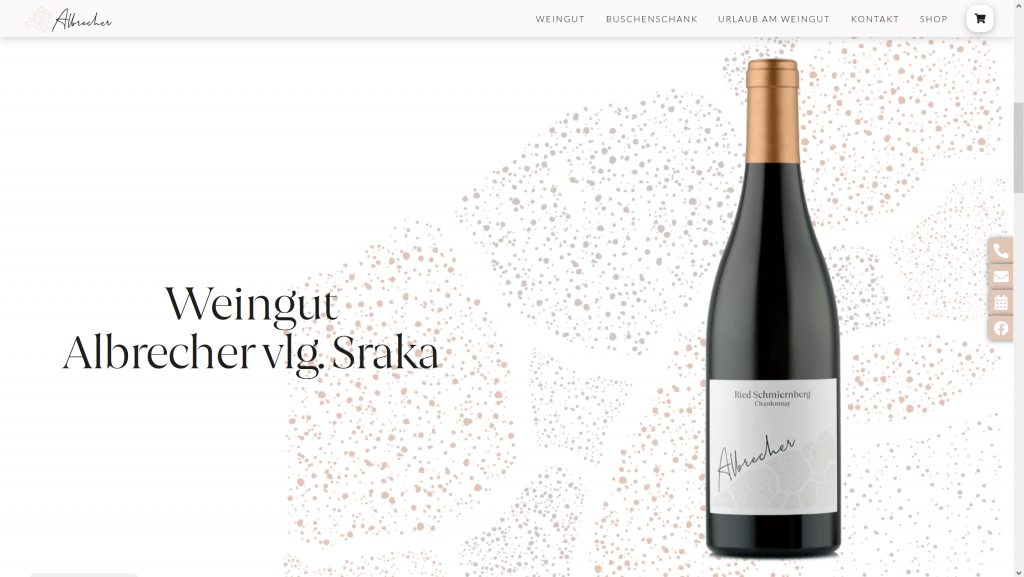 """Featured image for """"Weingut Albrecher"""""""