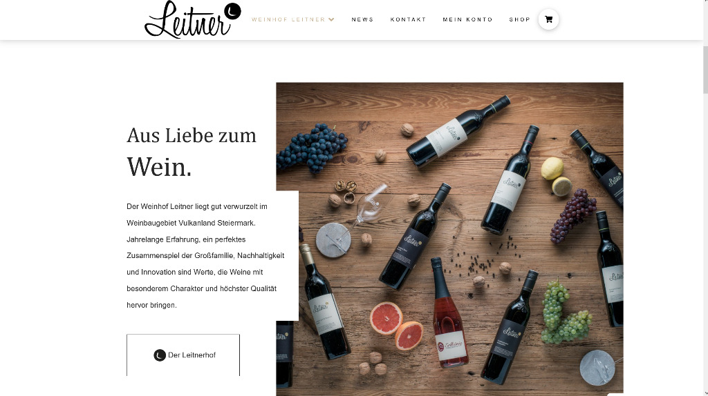"""Featured image for """"Weinhof Leitner"""""""